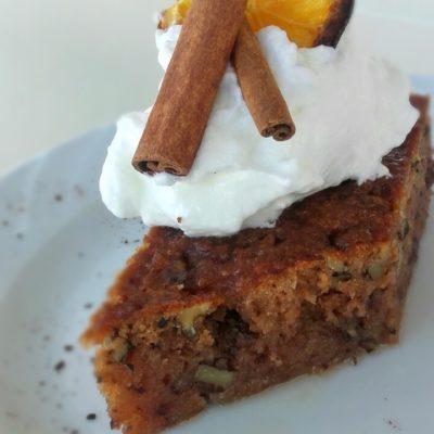 Greek Walnut Cake (Karydopita)