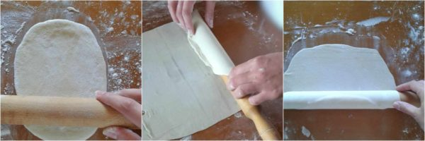 making phyllo dough
