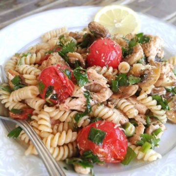 Greek Chicken Pasta Salad Recipe