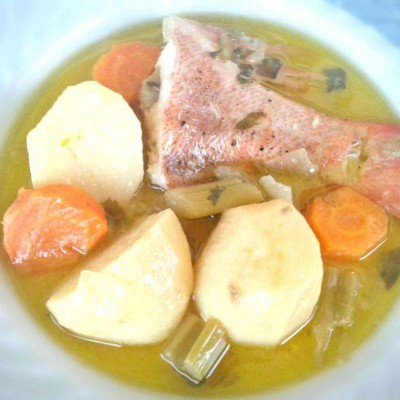 Greek Fish Soup Recipe