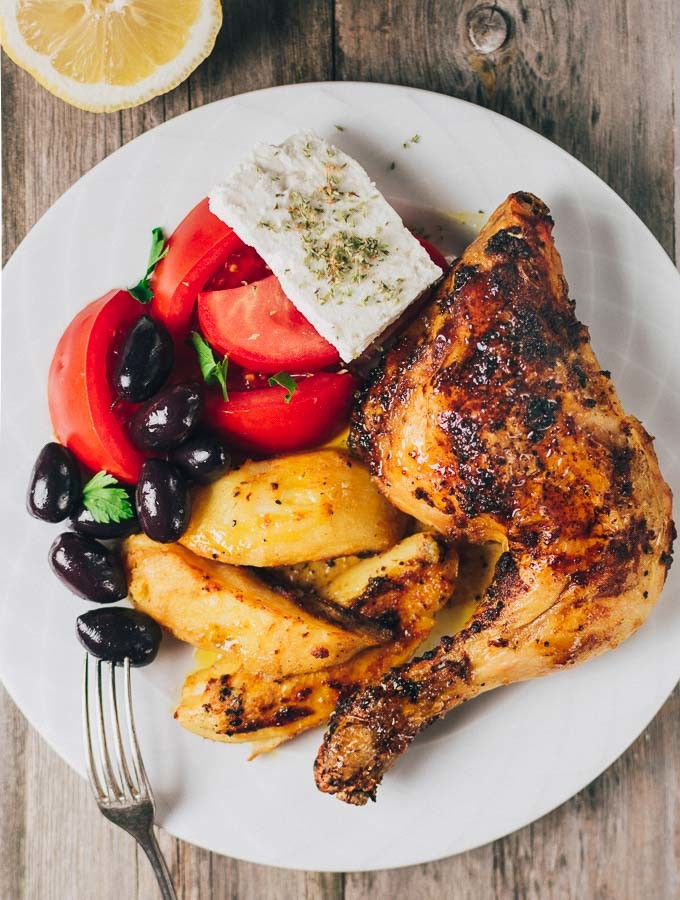 Greek Roast Chicken Recipe
