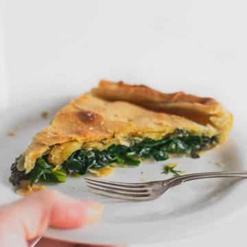 Spanakopita Greek Spinach Pie Recipe