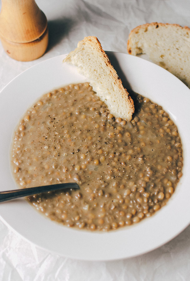 Vegan Greek Lentil Soup