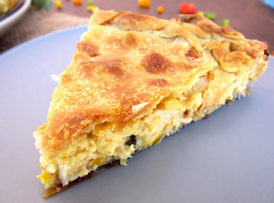 Chicken Pie With Phyllo Pastry