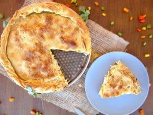 Greek Chicken Pie Recipe