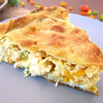 Old-fashioned Chicken Pie