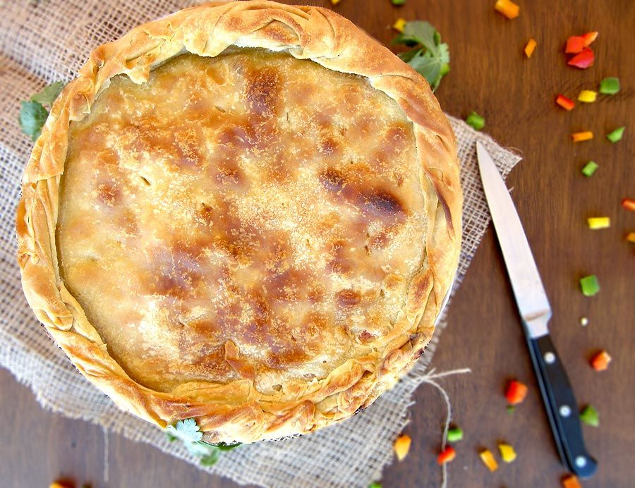 Rustic Chicken Pie Recipe