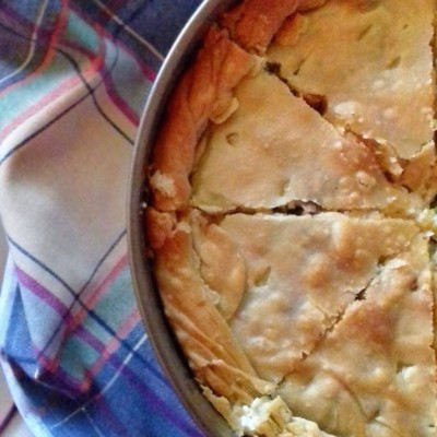 Greek Chicken Pie Recipe