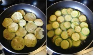 Fried Eggplant And Zucchini Slices