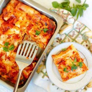 Greek Style Lasagna Recipe
