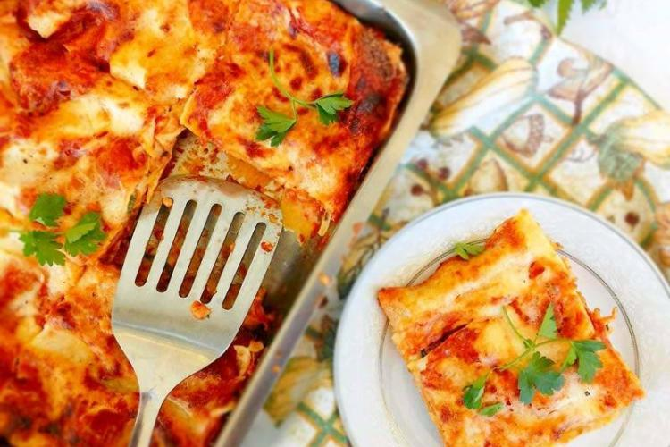 Greek Style Lasagna Recipe With Zucchini And Eggplant