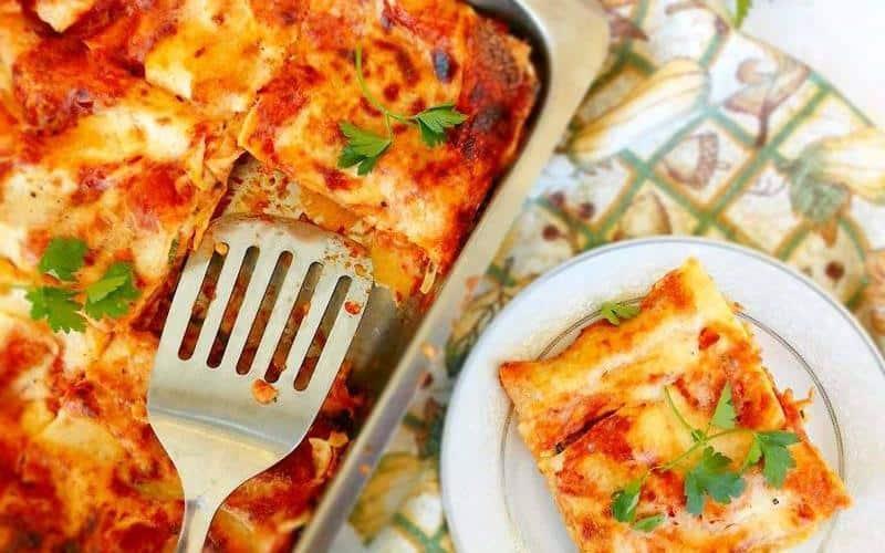 Greek Style Lasagna Recipe With Zucchini And Eggplant
