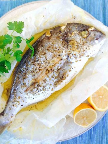 Sea Bream Recipe