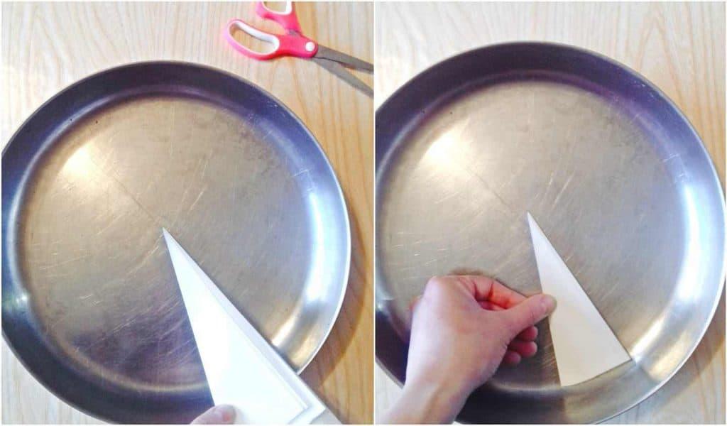 parchment paper pan bottom