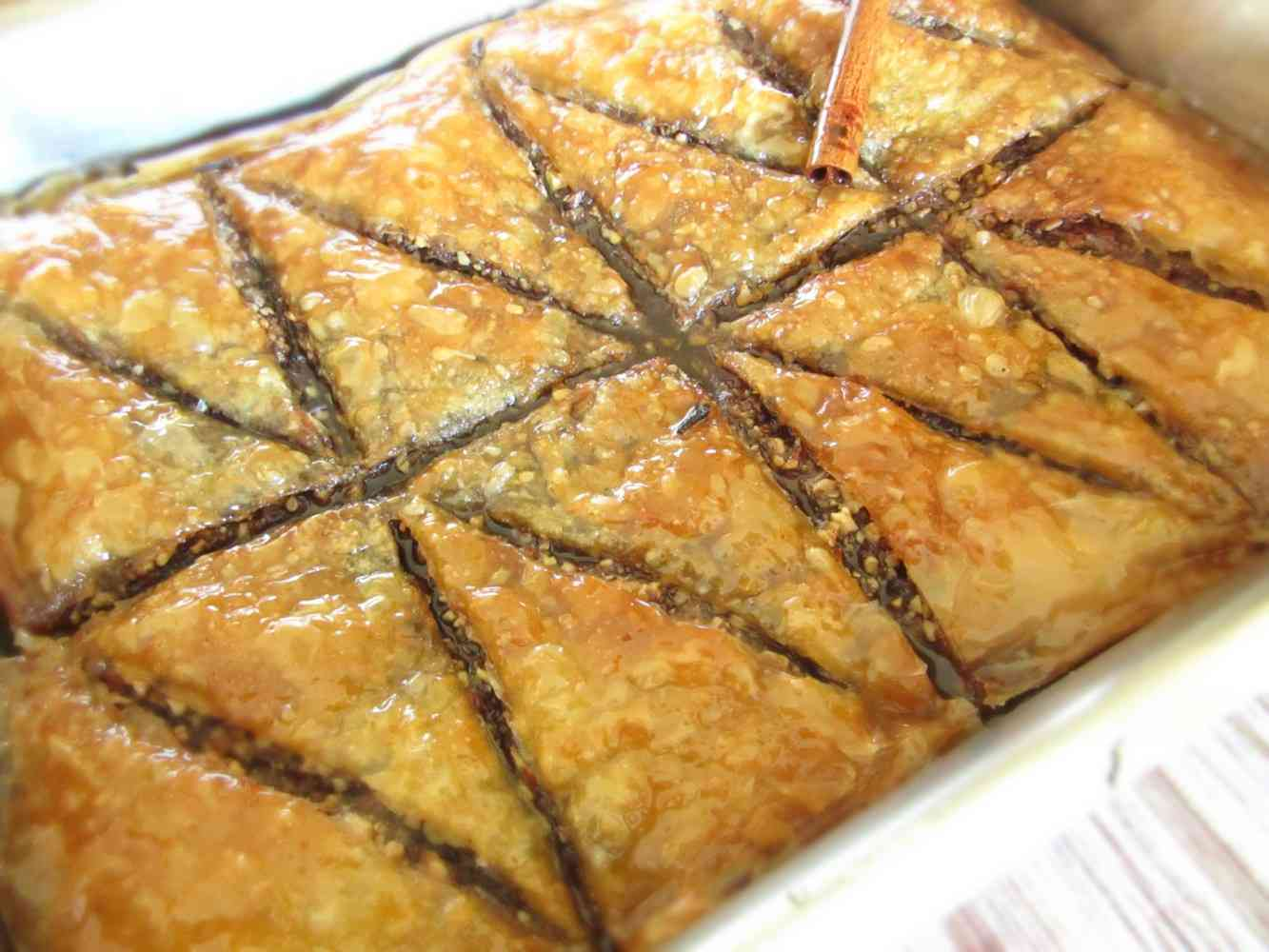 Baklava With Honey
