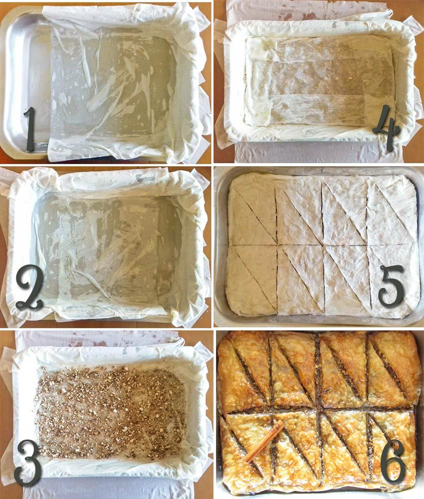 Classic Greek Baklava Tutorial With Pictures