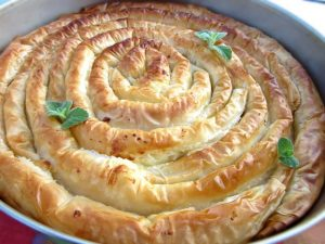 Greek Cheese Pie With Crispy Phyllo