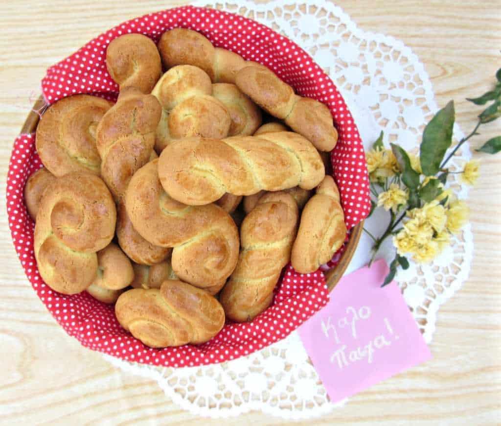 Greek Easter Cookies Recipe