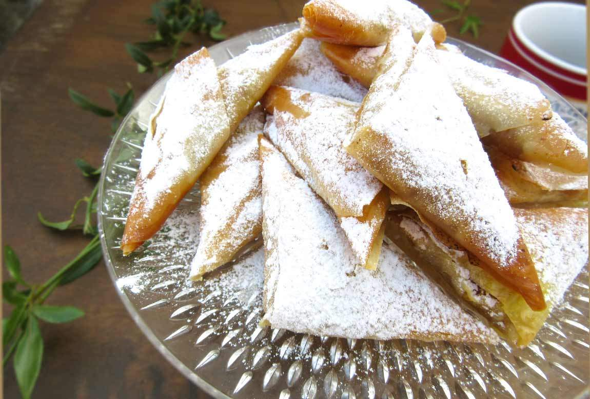 Mini Greek Pumpkin Pies With Phyllo Pastry ...