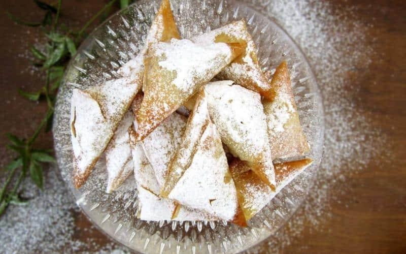 Mini Greek Pumpkin Pies With Phyllo Pastry (Kolokuthopitakia)