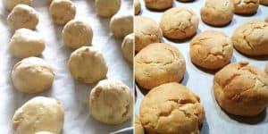Baking Shortbread Balls