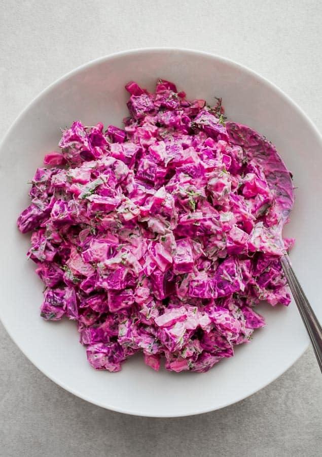 Greek Beetroot Salad Dip