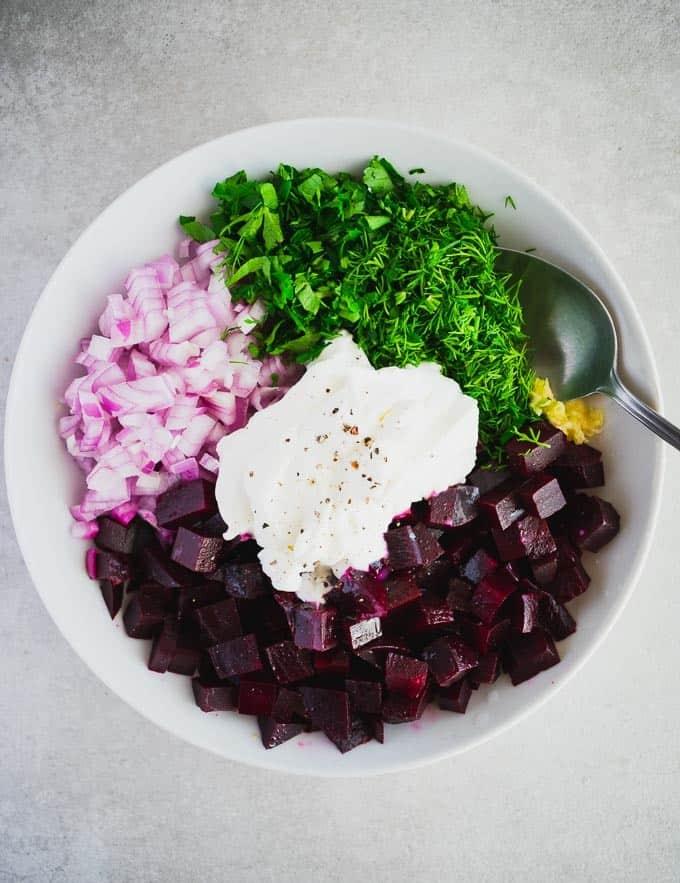 Greek Beetroot Salad