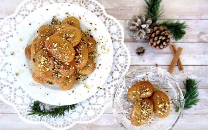 Traditional Greek Honey Cookies (Melomakarona)
