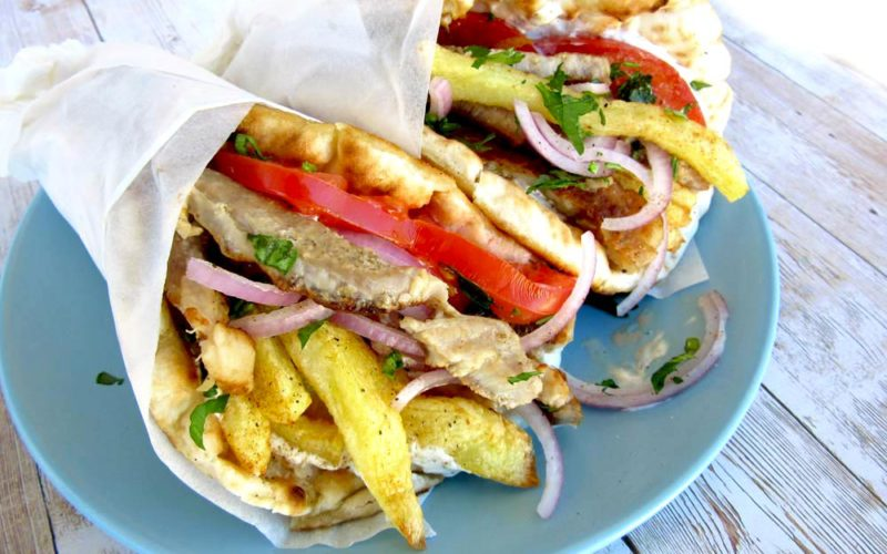 Greek Gyros Recipe With The Easiest Step By Step Tutorial