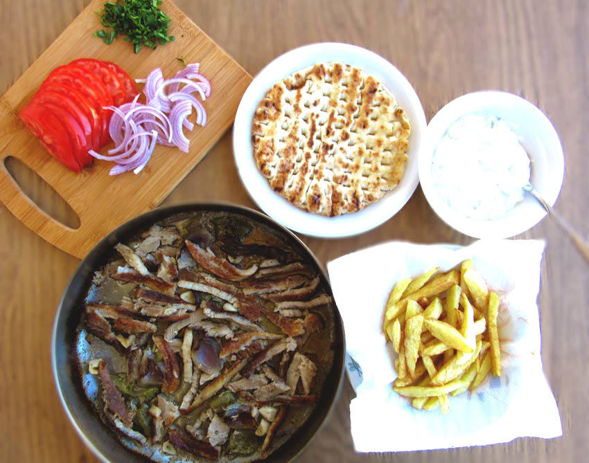 Gyros Recipe Ingredients