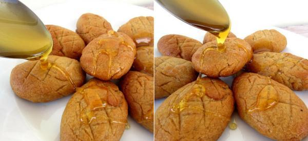 Honey Drizzled Cookies