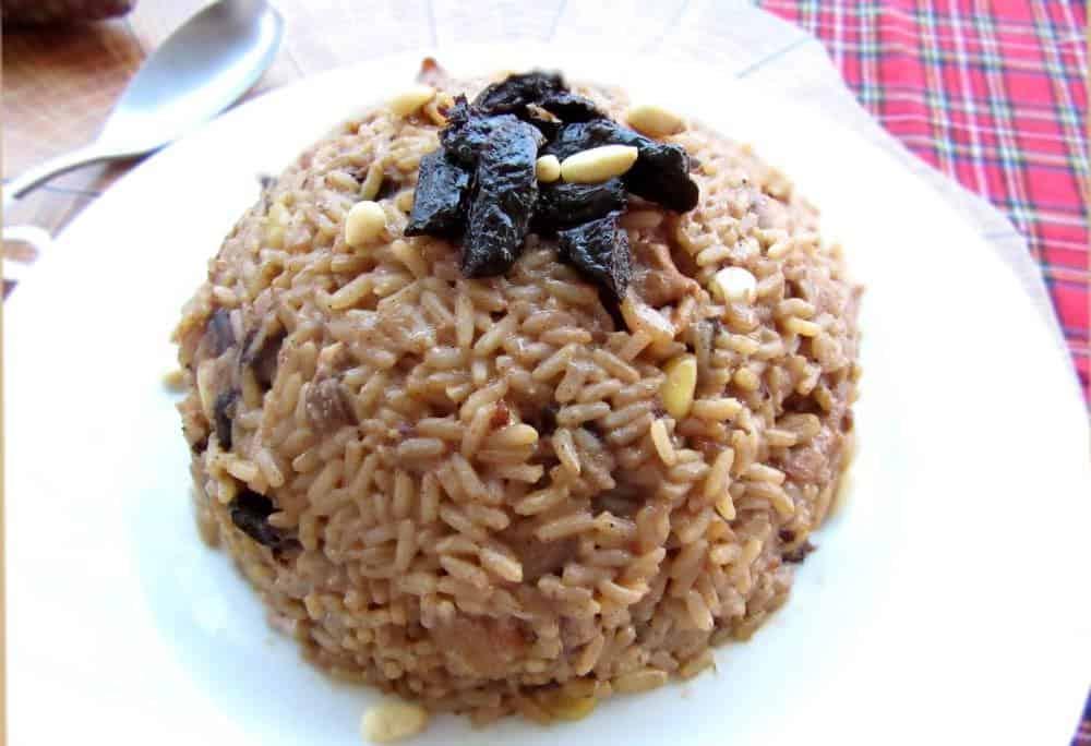 winter holiday greek rice - Christmas Rice