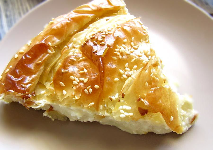 Creamy Feta Cheese Pie