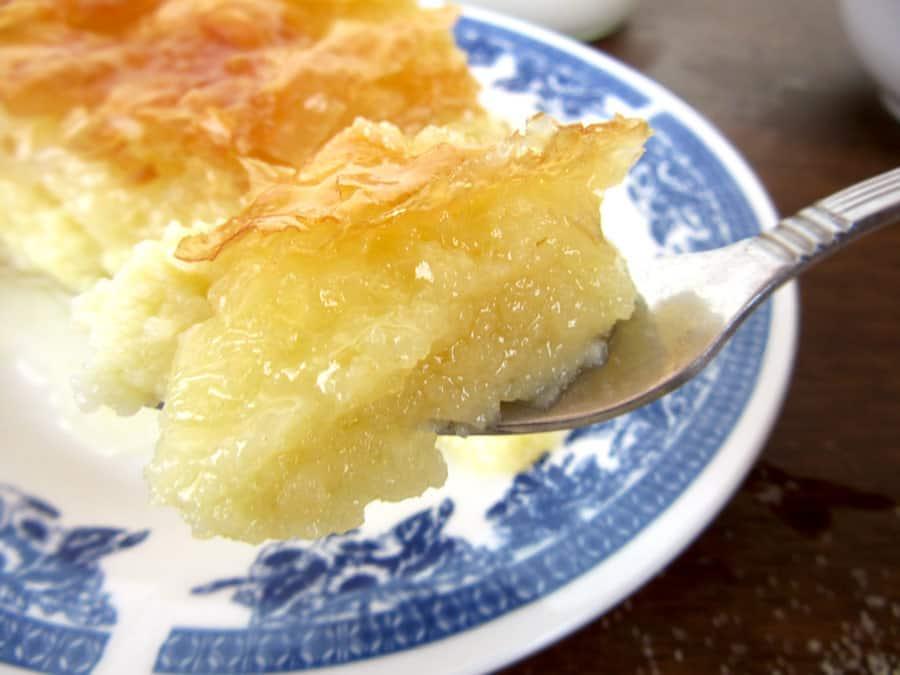 Custard Pie Greek Dessert Recipe