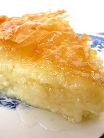 Best Galaktoboureko Recipe- Syrupy Custard Pie With Filo