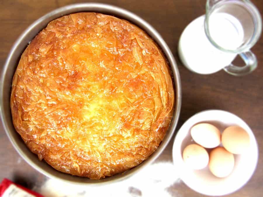 Greek Custard Pie Galaktoboureko