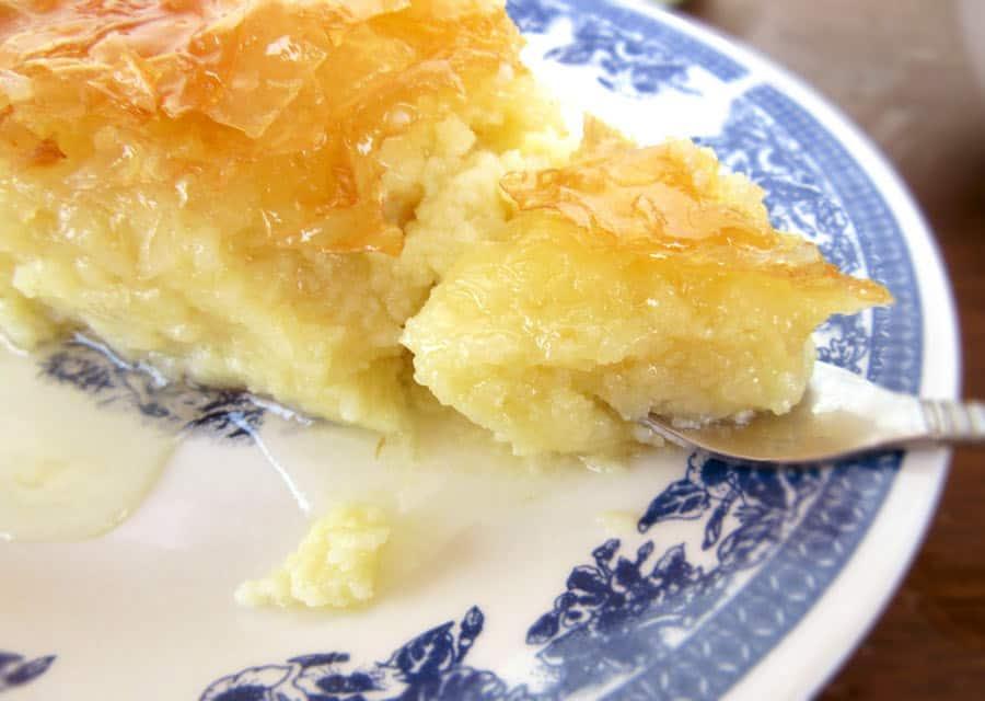 Syrupy Custard Pie