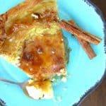 Greek Custard Pie With Phyllo, Honey, And Cinnamon