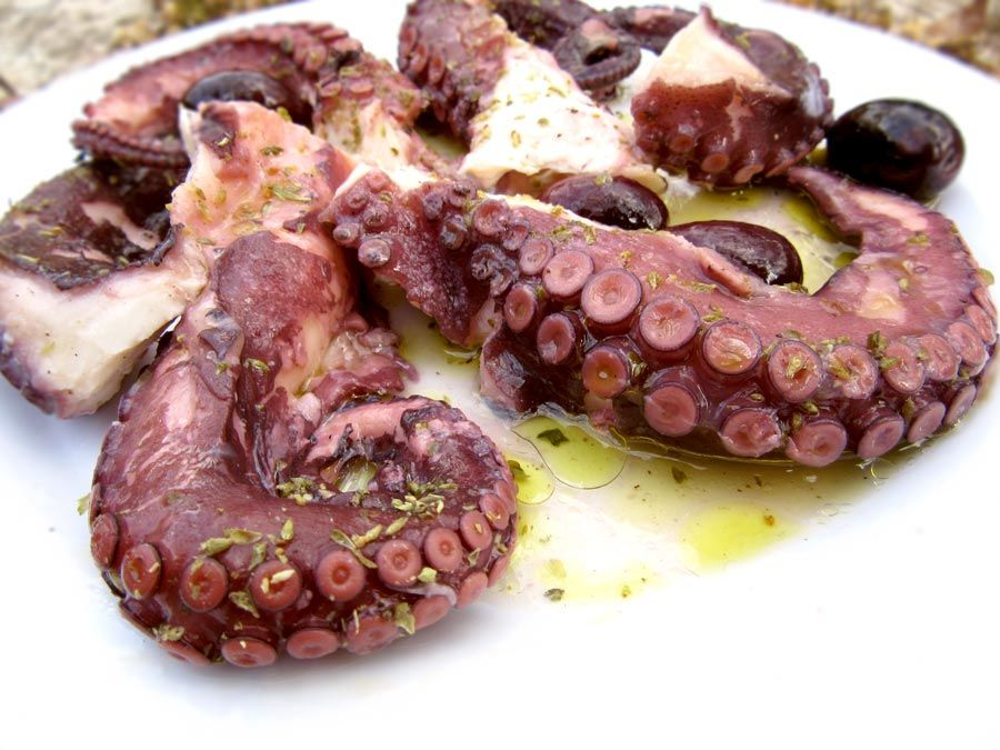 Octopus Recipe With Vinegar And Olive Oil