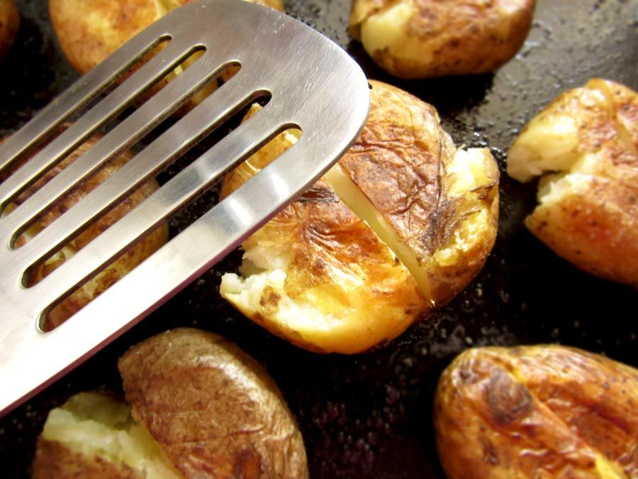 Oven Roasted Baby Potatoes
