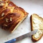 Tsoureki Sweet Bread With Butter