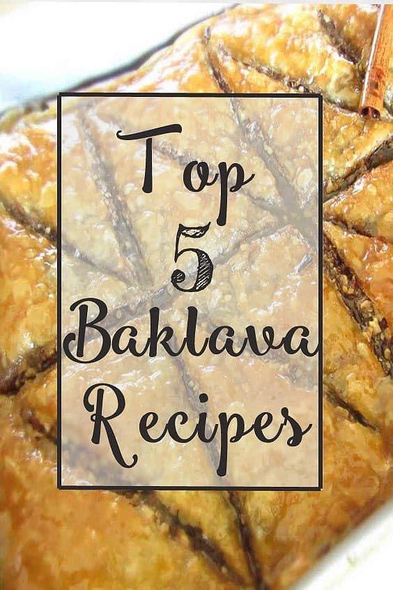 top-5-baklava-recipes