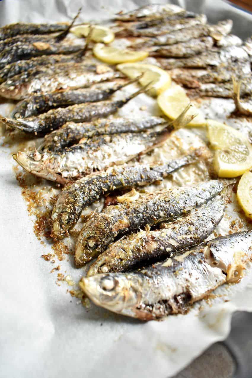 Baked Sardine Recipe