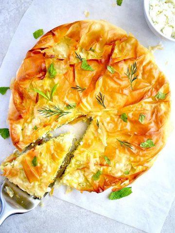 Greek Zucchini Pie (Kolokithopita)