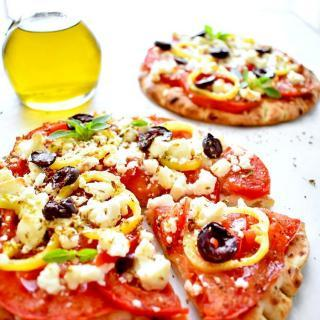 Healthy Breakfast Pizza