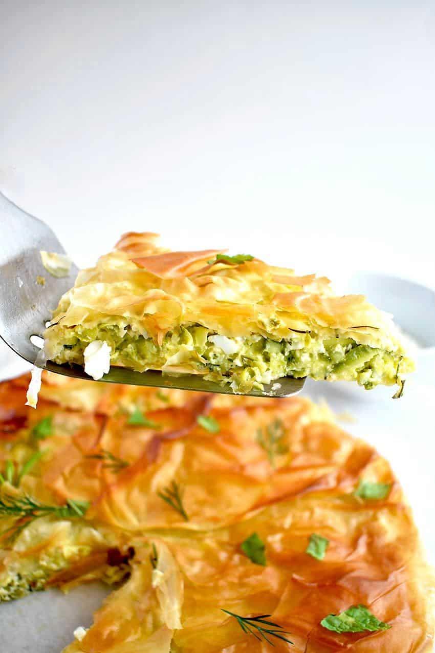 Traditional Greek Zucchini Pie Recipe