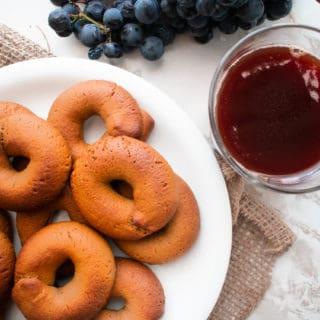 Grape Molasses Cookies Moustokouloura