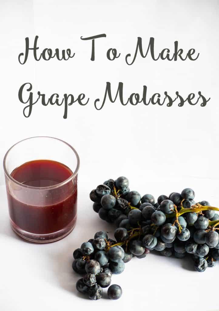 How To Make Grape Molasses