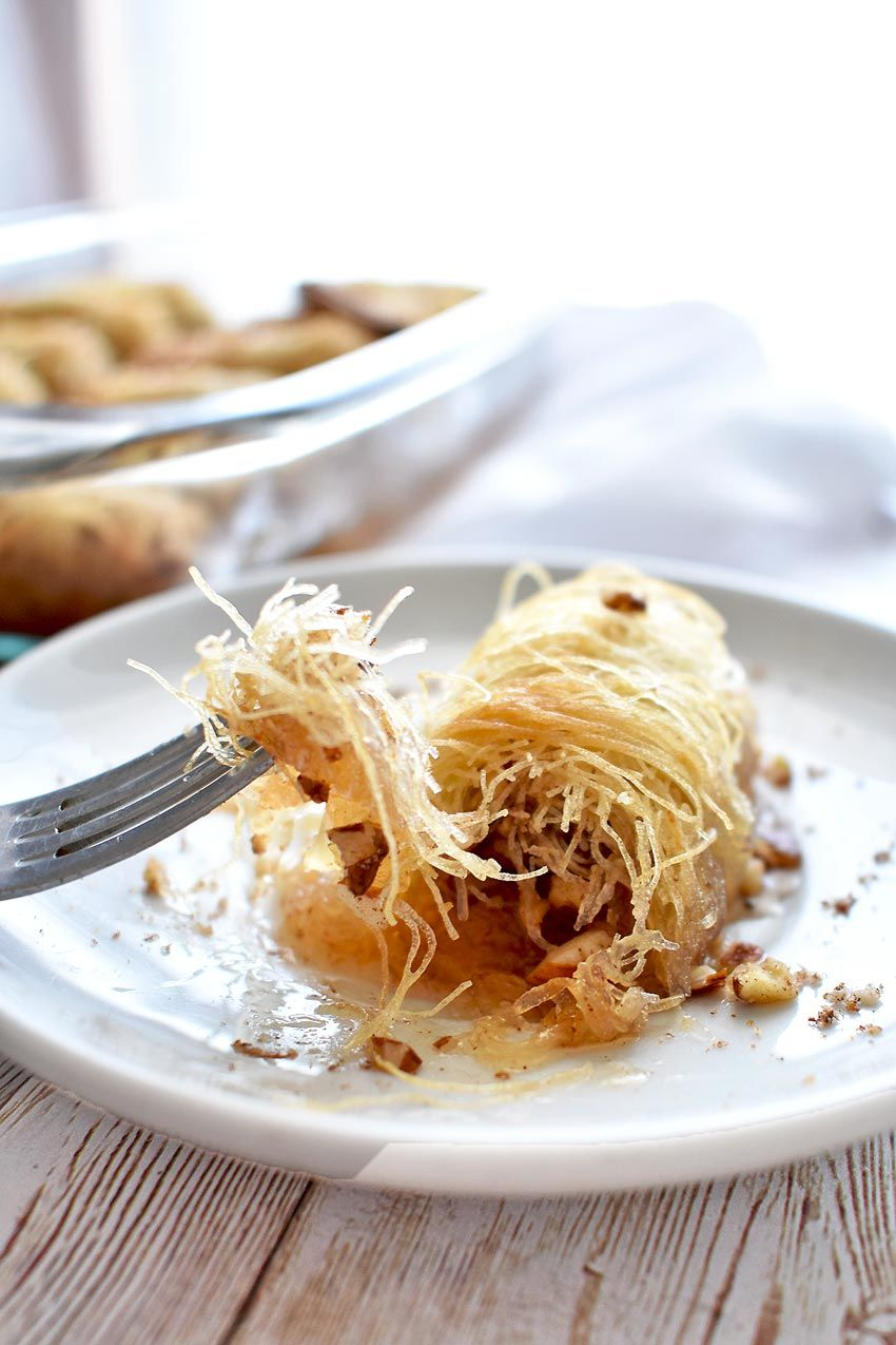 Greek Pastry Filled With Nuts