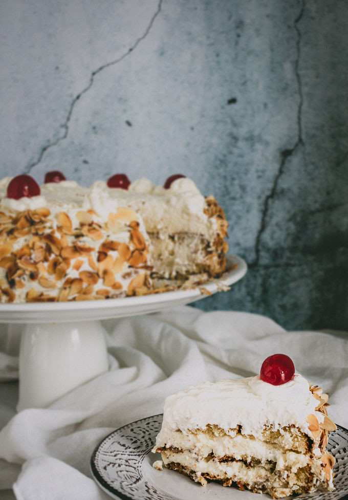 Flourless Almond Torte